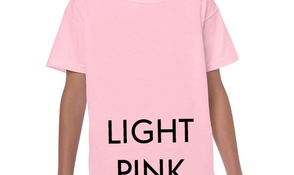 LIGHT PINK Youth T-shirts