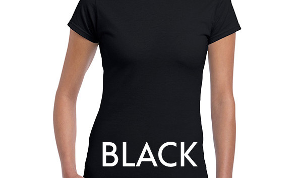 BLACK 64000L Ladies Tee