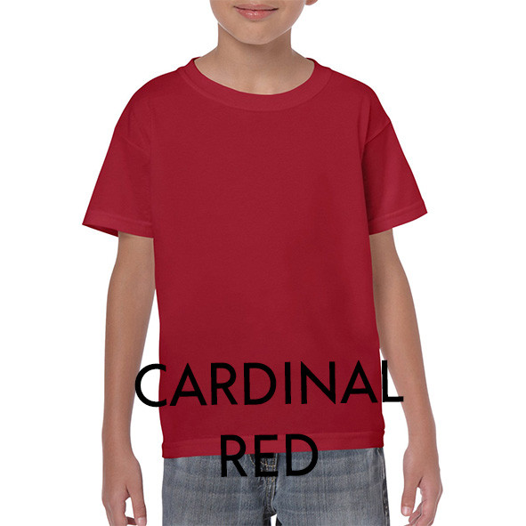 CARDINAL RED Youth T-shirts