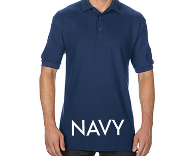 NAVY Custom Printed Polo Shirts
