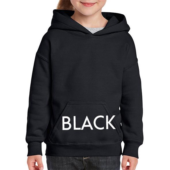 BLACK Youth Hoodies