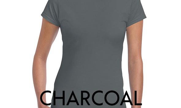CHARCOAL 64000L Ladies Tee