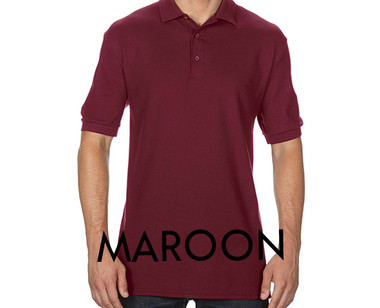 MAROON Custom Printed Polo Shirts