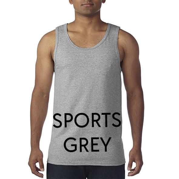 Sports Grey Tank Tops