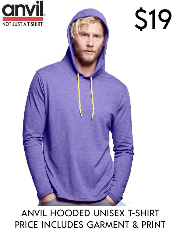 ANVIL Hooded Longsleeve T-Shirts