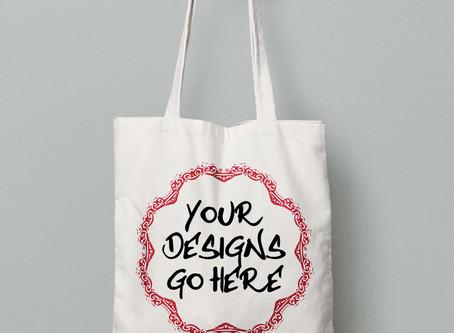 Tote-Bags Added to Custom Printed List