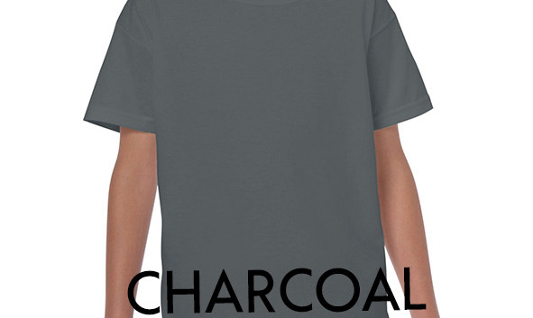 CHARCOAL Youth T-shirts
