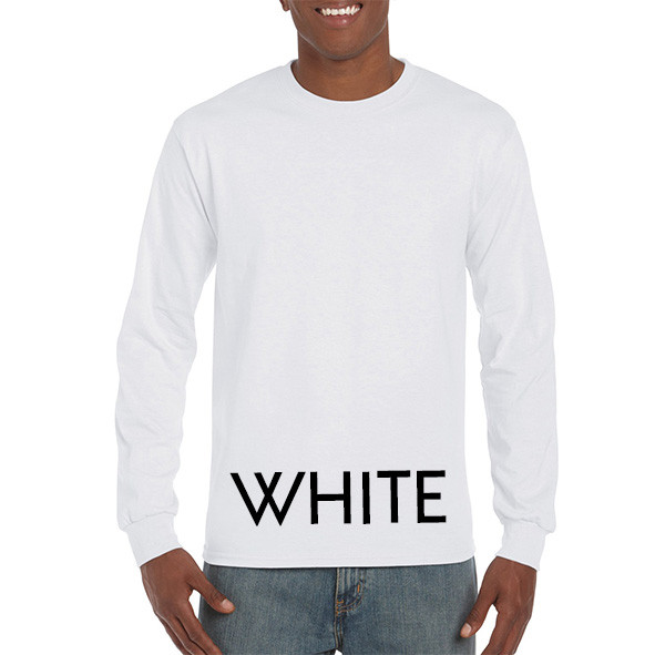 White Printed Longsleeve T-shirts