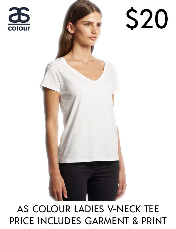 As Colour Brea V-Neck T-Shirts