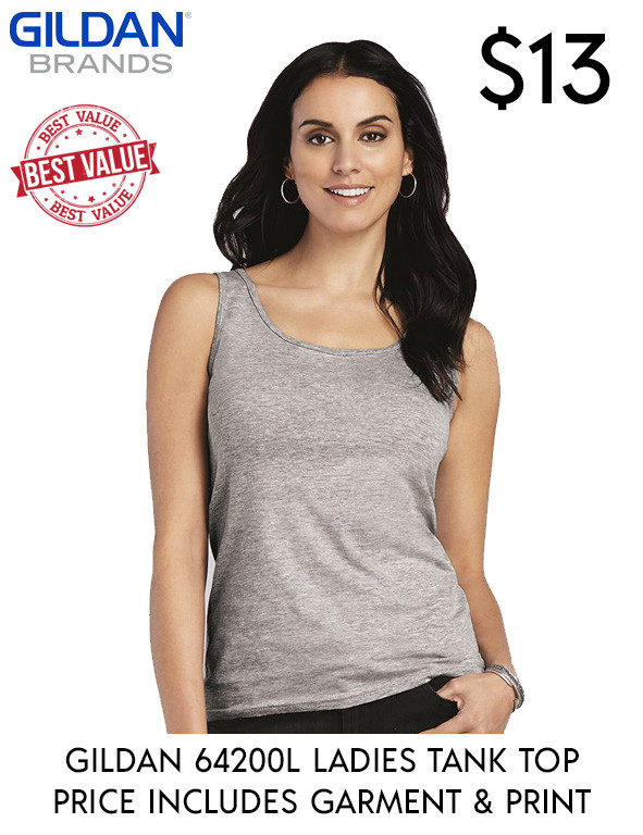 64200L LADIES TANK TOPS