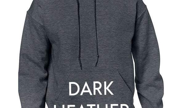 Colour Choice:  Dark Heather Grey