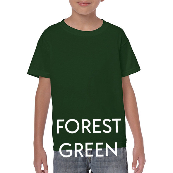 FOREST GREEN Youth T-shirts