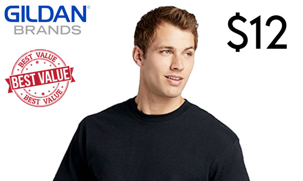 Gildan 64000 Custom Printed T-Shirts
