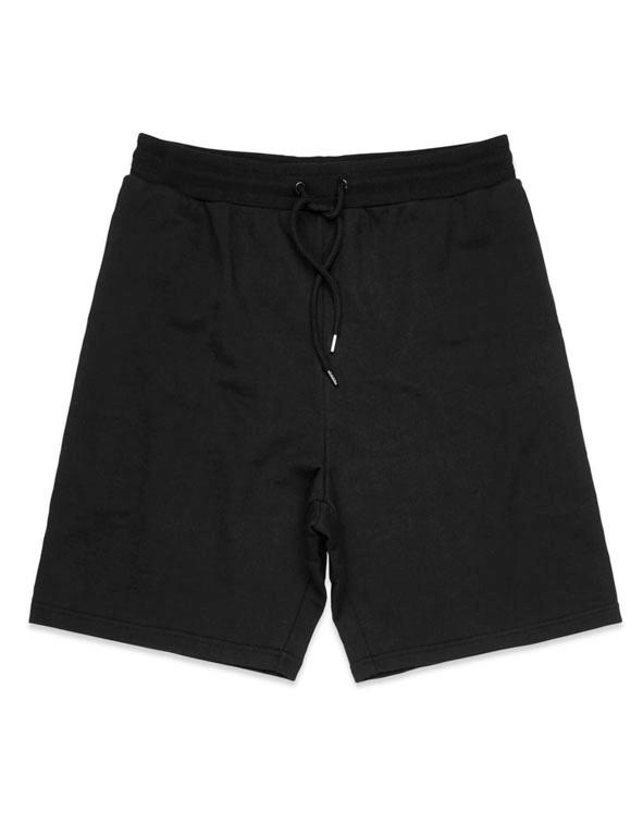 Black Printed Stadium Shorts