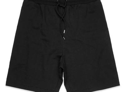 Black - As colour Printed Stadium Shorts
