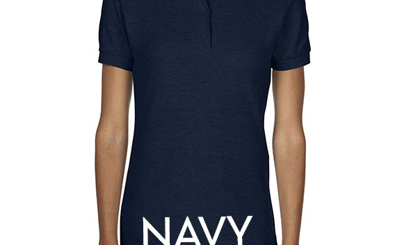 NAVY Ladies Polo Shirts