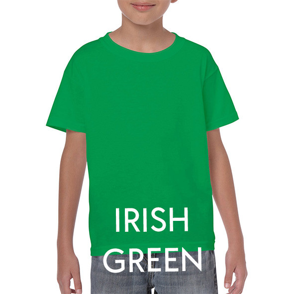 IRISH GREEN Youth T-shirts