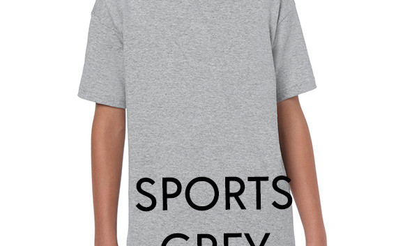 SPORTS GREY Youth T-shirts