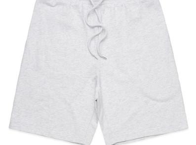 White Marl - As colour Printed Stadium Shorts