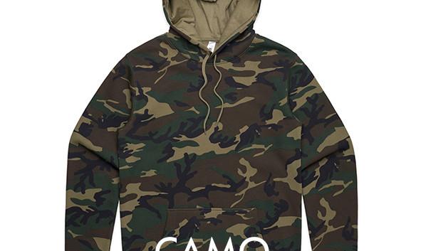 Green Camou Hoodies