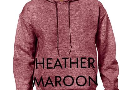 Colour Choice: Heather Maroon