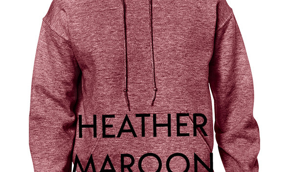 Colour Choice: Heather Maroon