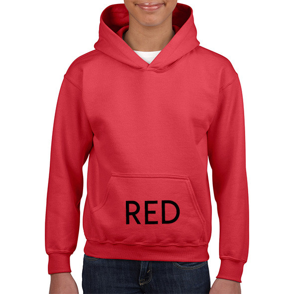 RED Youth Hoodies