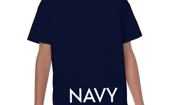 NAVY Youth T-shirts