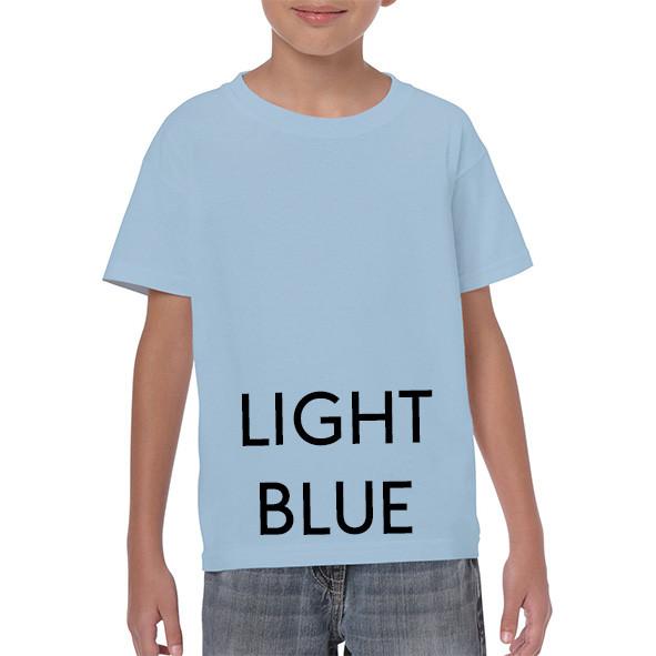 LIGHT BLUE Youth T-shirts