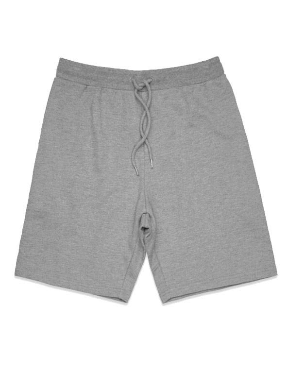 Steel Marl Printed Stadium Shorts