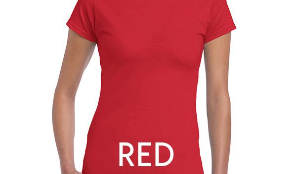 Red 64000L Ladies Tee