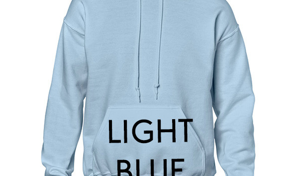 Colour Choice: Light Blue
