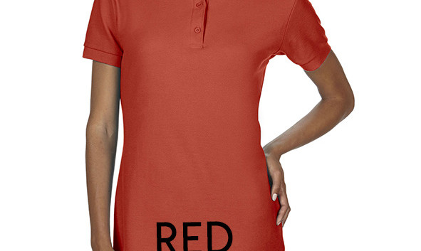 RED Ladies Polo Shirts