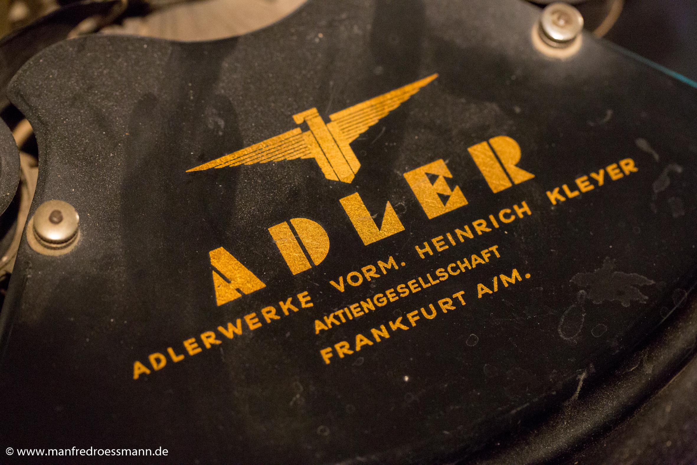 Adler-Schreibmaschin