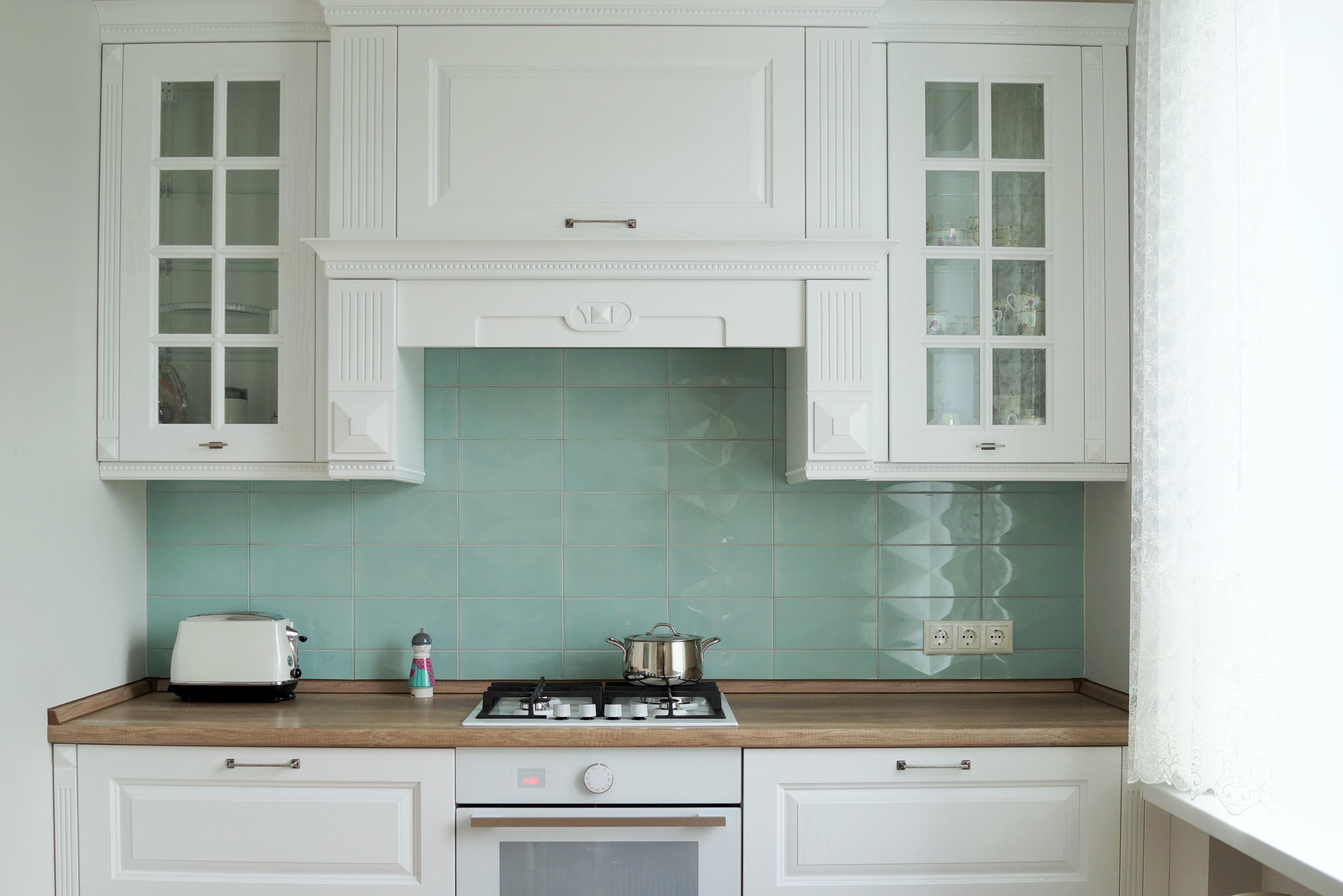 дизайн кухни - рабочая зона