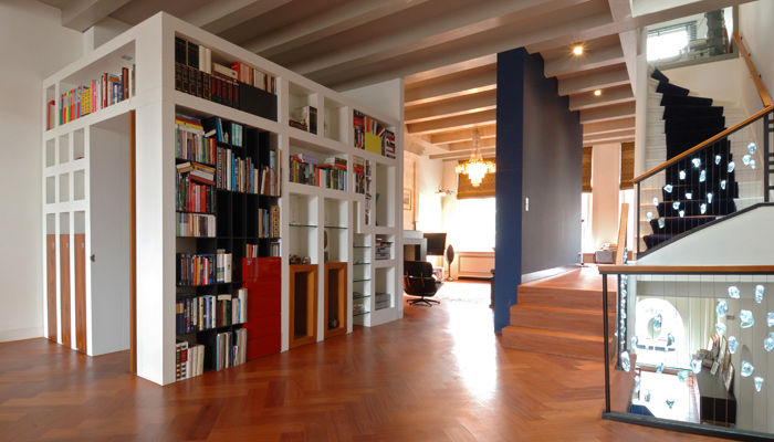 Woonhuis Amsterdam, Vos Interieur, Bart Vos, Architectuur, binnenhuisarchitect, Groningen
