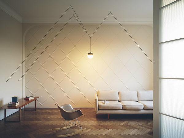 vos interieur, flos, string light