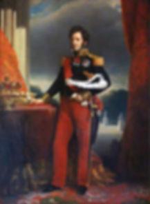 Louis-Philippe_I,_painting_at_Iolani_Pal