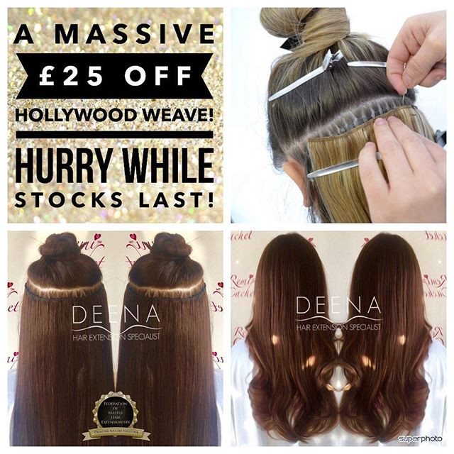 25 Off A Hollywood Weave Luxury Hair Extensions Bootle Deena