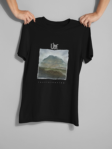 T-shirt - 'Lost in the View' cover art