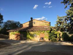 Teilansicht der Casa Simoncelli