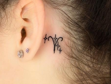 Znamení beran tetování / Zodiac Aries tattoo