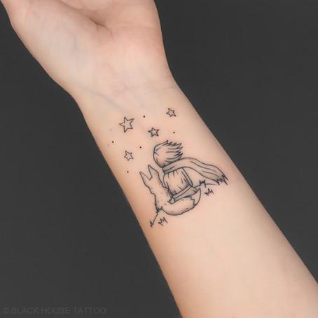 Tetováni výjevu z malého prince / The little prince tattoo.