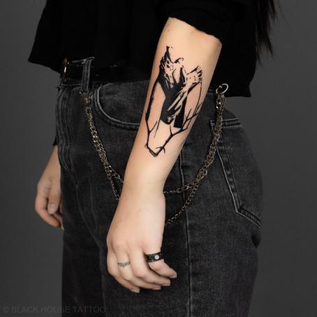 Abstraktní tetování / Abstract tattoo
