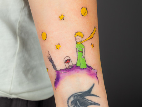 Malý princ tetováni / The Little Prince tattoo