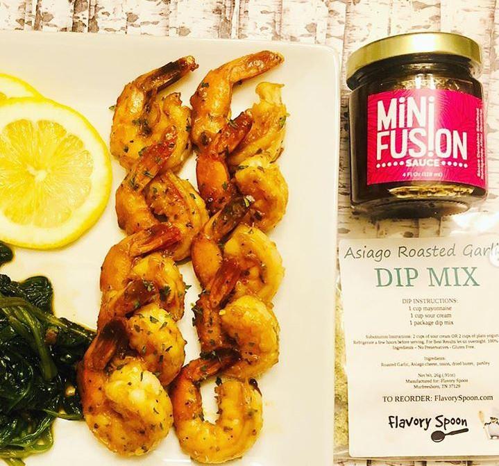 "Mini Fusion + Flavory Spoon Collaboration Dish aka ""INFUSED"""