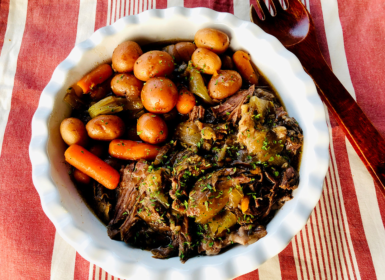 Slow Cook Pot Roast