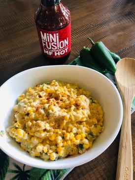 Kickin' Creamy Jalapeños Corn