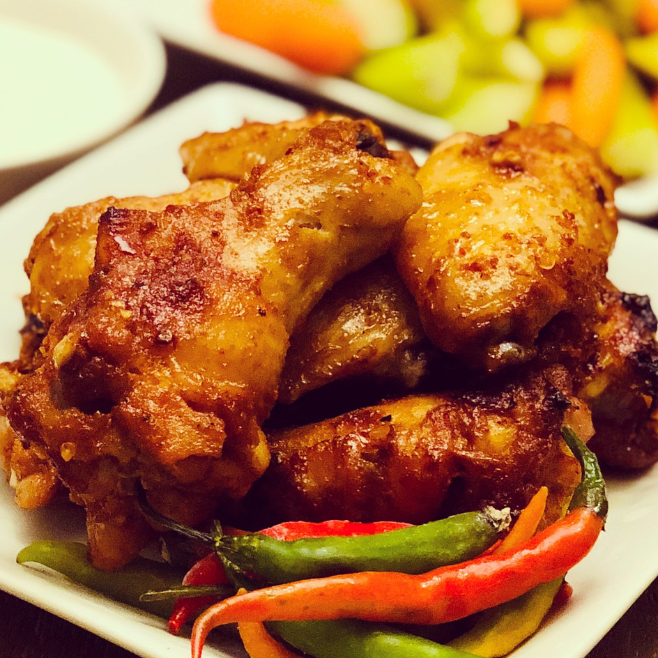 Spicy Oven-Baked Wings
