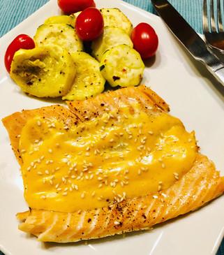 Yum Yum Baked Salmon